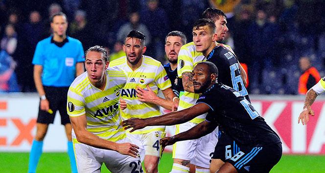 Fenerbahçe – Dinamo Zagreb maçı 0-0'lık eşitlikle sona erdi