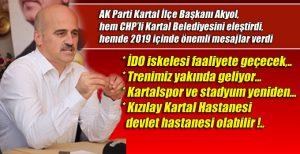 AK Partili Akyol, 2019 için önemli mesajlar verdi!