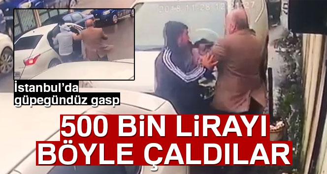 İstanbul'da güpegündüz gasp!