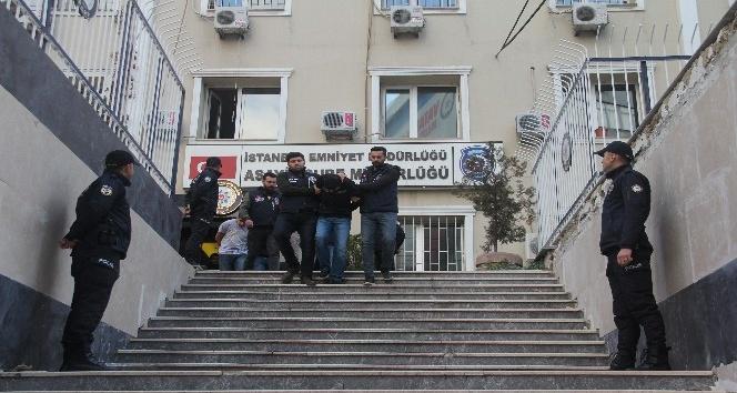 Hırsızlık çetesi Zeytinburnu'nda yakalandı