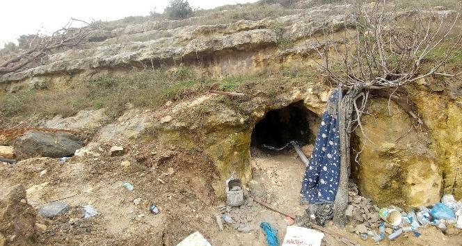 Definecilerin talan ettiği 2000 yıllık kral mezarı görüntülendi