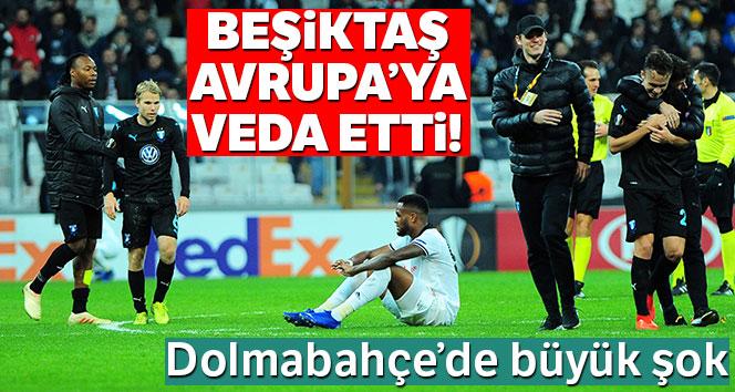 Beşiktaş, Avrupa'ya veda etti!