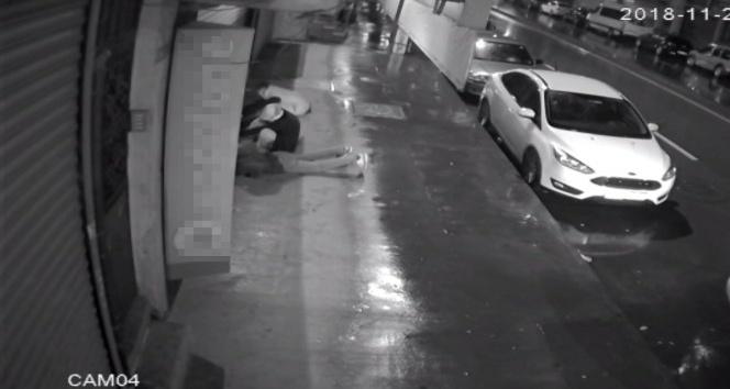 Altı hırsızın cep telefonu bayii soygunu kamerada