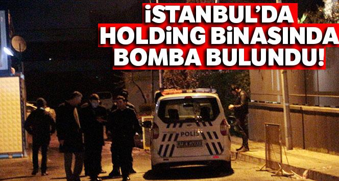 Holding binasında bomba bulundu!