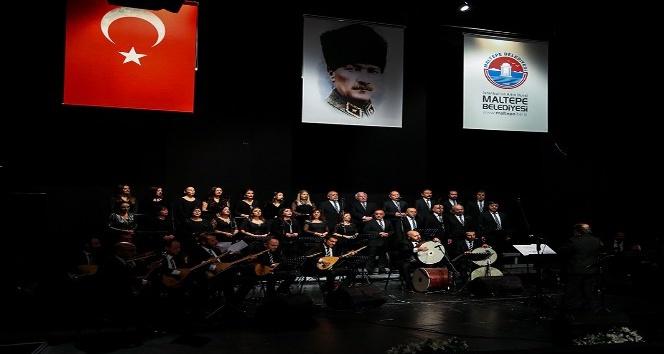 Türk Halk Müziği Korosu'ndan Maltepe'de türkü şöleni