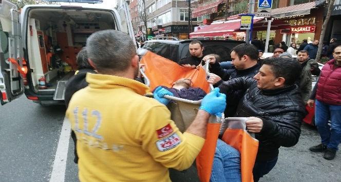 Eczacı, kalfasını cam şişe parçasıyla yaraladı