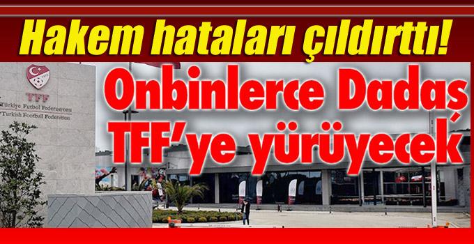 İstanbul'da Erzurumspor taraftarları TFF'ye yürüyecek…