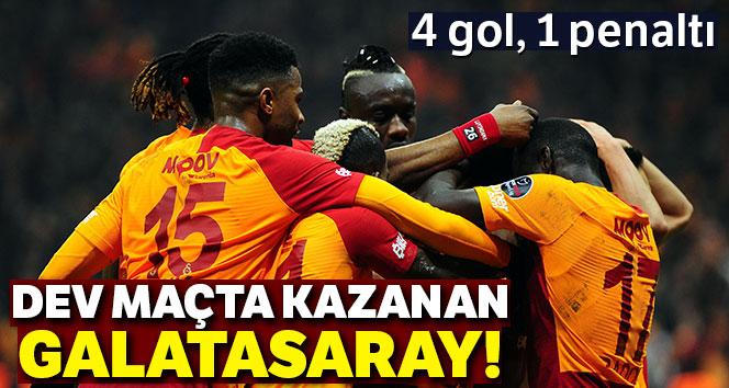 Galatasaray Trabzonspor'u 3 golle yıktı!