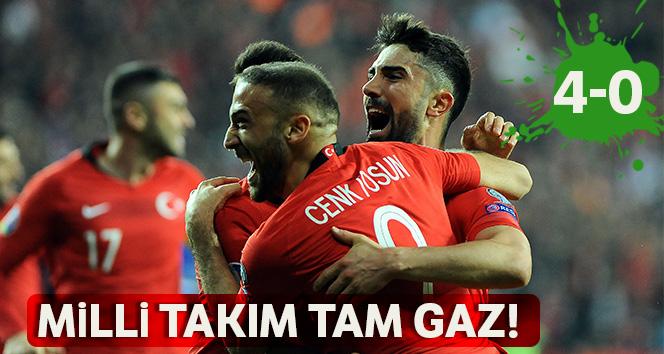 Türkiye A Milli Takımı, Moldova'yı 4-0 yendi