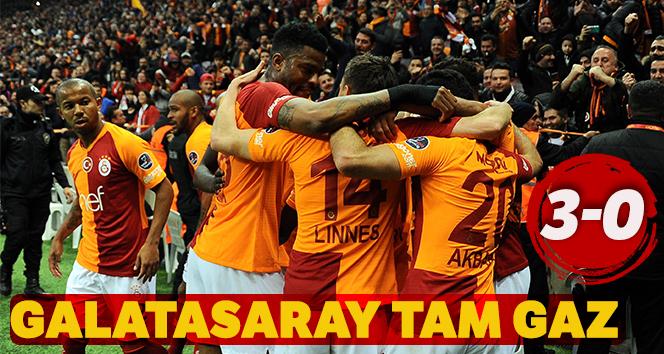 Galatasaray, Evkur Yeni Malatyaspor'u 3-0'lık skorla mağlup etti