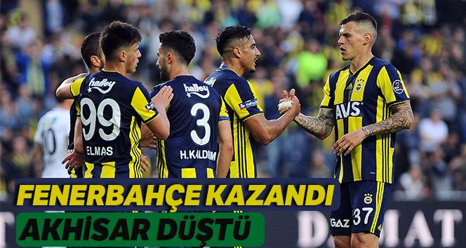 Fenerbahçe Akhisarspor'a 2-1 üstünlük kazandı