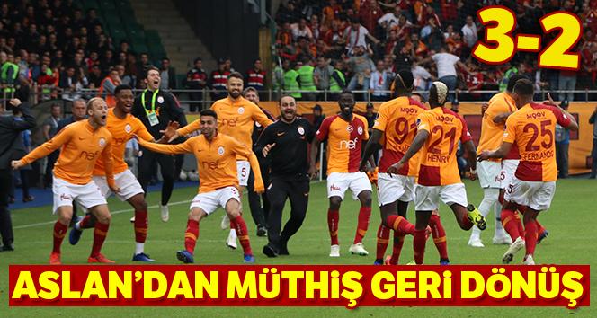 Galatasaray Çaykur Rizespor'u 3-2 mağlup etti