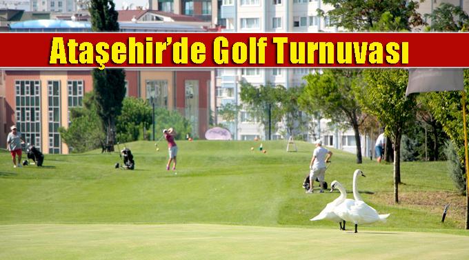 Golf tutkunları bu turnuvada buluştu