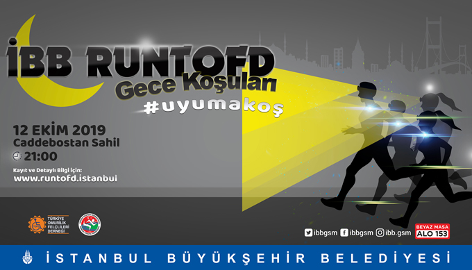 İBB'den İstanbul'un Spor Kültürünü değiştirecek etkinlik gece ve sabah koşuları