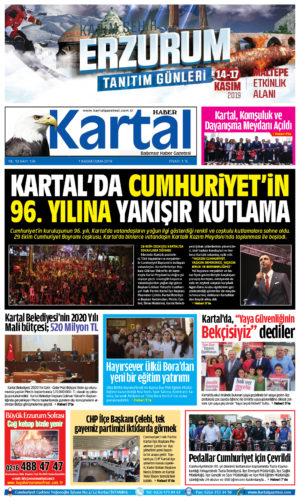 Kartal Haber Gazetesi sayı