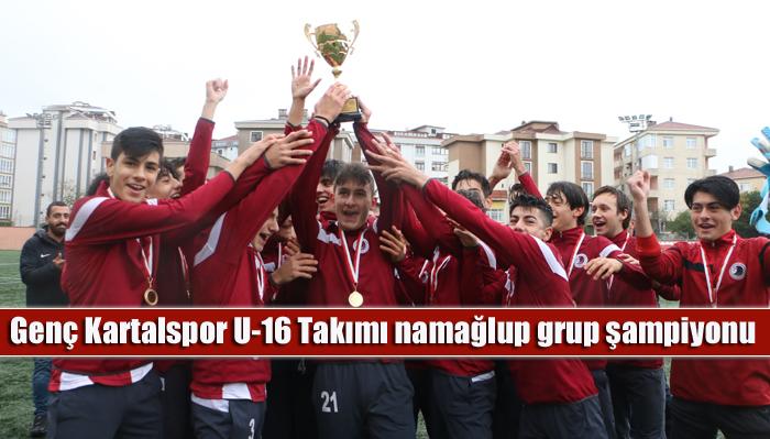 Genç Kartalspor U-16 Takımı namağlup grup şampiyonu odlu