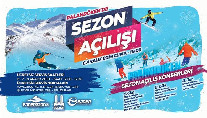 Palandöken Kayak Sezonu açılıyor