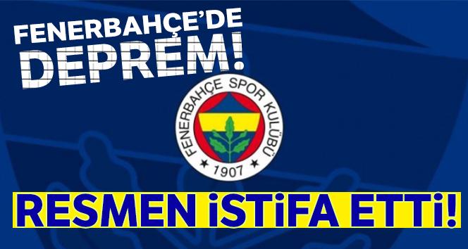 Fenerbahçe'de deprem!