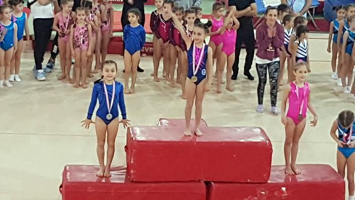 2020 Yılının İlk Madalyası Kartal Bulvarspor Cimnastik Kulübü'nden!