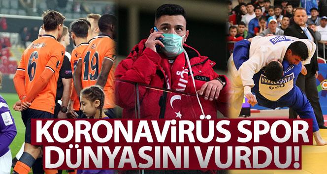 Türkiye'de tüm branşlarda maçlar seyircisiz!