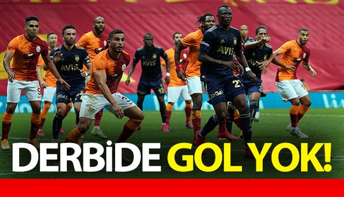İki Ezeli Rakip Galatasaray – Fenerbahçe Derbi Maçı  0 – 0 Bitti