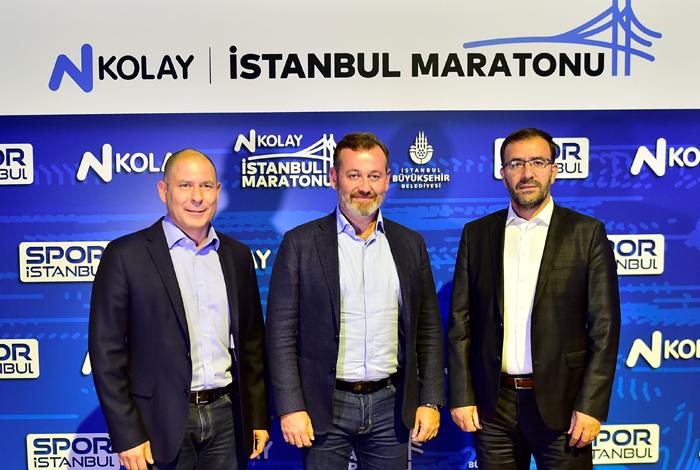 İstanbul Maratonu isim sponsoru N Kolay oldu
