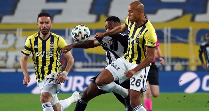Fenerbahçe kendi evinde Beşiktaş'a mağlup oldu