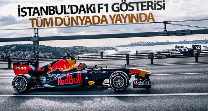 İstanbul Formula1 Yarışları öncesi çekilen tanıtım filmi yayınlandı