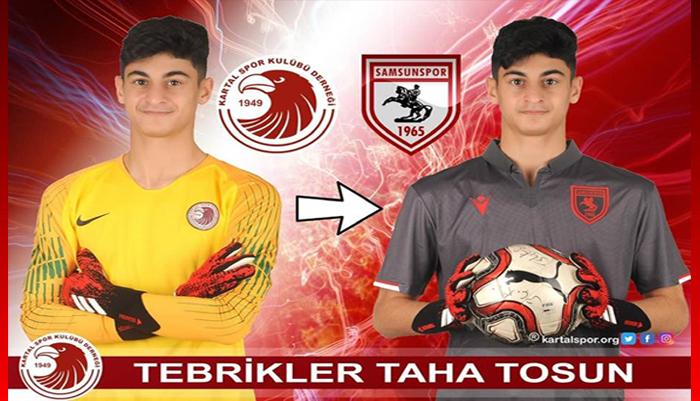 Kartalspor'lu genç futbolcu Taha Tosun, TFF 1.Lig ekibine transfer oldu