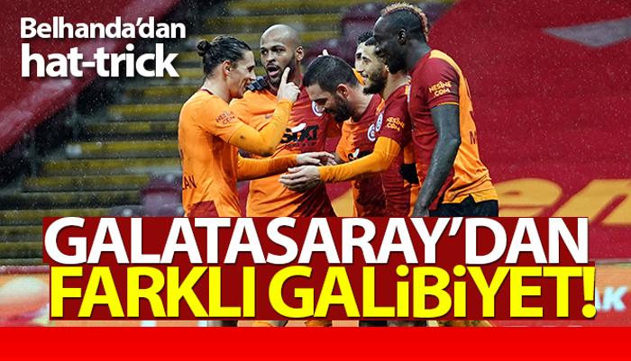Süper Lig'in Galatasaray Gençlerbirliği'ne patladı 6 –