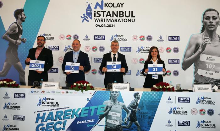 N Kolay 16. İstanbul Yarı Maratonu 4 Nisan'da Yapılacak