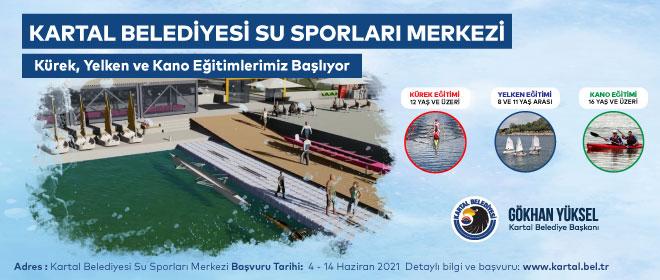 Kartal'da Dragos Su Sporları Merkezi açılıyor