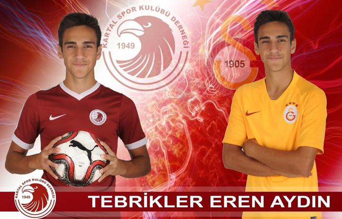 Kartalspor'lu genç futbolcu Eren Aydın Galatasaray'a transfer oldu