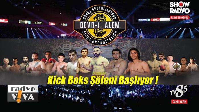 Devr-i Alem Fight Kick Boks Organizasyonu Serisi 12 Haziranda İstanbul'da başlıyor