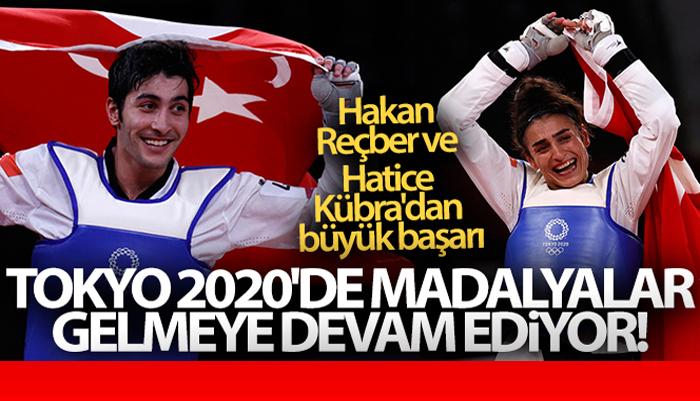 Tokyo 2020 Olimpiyatlarında Hakan Reçber ve Hatice Kübra'dan madalyalar gelmeye devam ediyor!