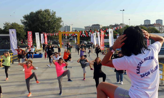 Kartallılar, Avrupa Hareketlilik Haftası'nda Bir çok Spor Dalında Etkinlikler Yapıyor