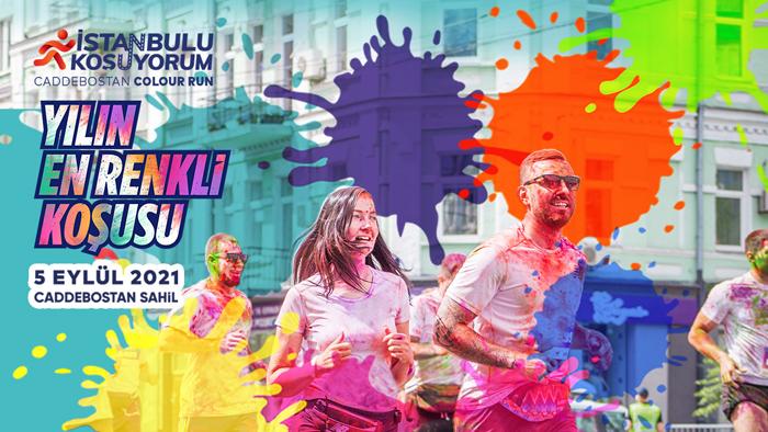 """""""İstanbul'u Koşuyorum"""" Caddebostan Colour Run Etabı 1250 sporcunun katılımı ile gerçekleştirilecek"""